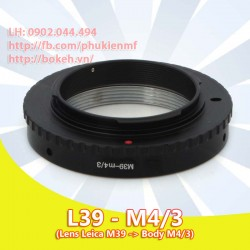 Leica L39 - M4/3 ( L39-M4/3 )