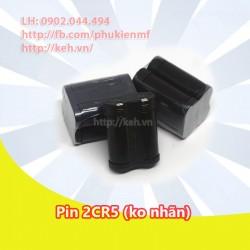 Pin 2CR5 thường ko nhãn