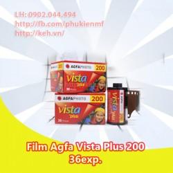Film AGFA Vista 200 36exp (INDATE)