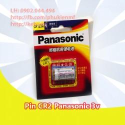 Pin Panasonic CR123A Lithium 3V loại thường