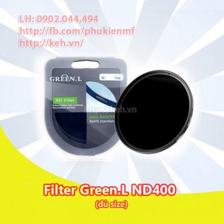 Filter Green.L ND400 (đủ size)