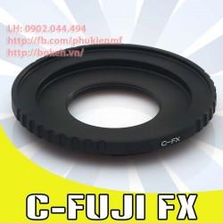Cine C mount - Fujifilm X ( C-FX )