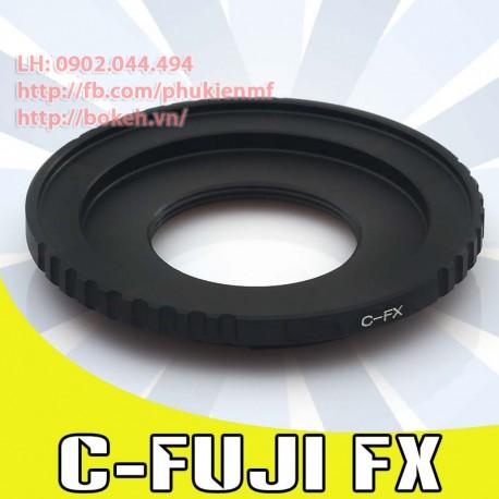 Cine C mount - Fujifilm X (C-FX)