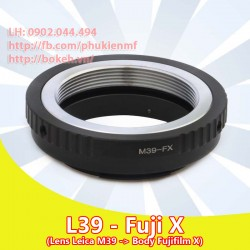 Leica L39 - Fujifilm X ( L39-FX )