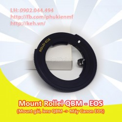 Mount Rollei QBM-EOS (loại gài)