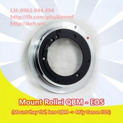 Mount Rollei QBM-EOS (loại thay thế)