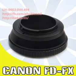 Canon FD/FL - Fujifilm X ( FD-FX )