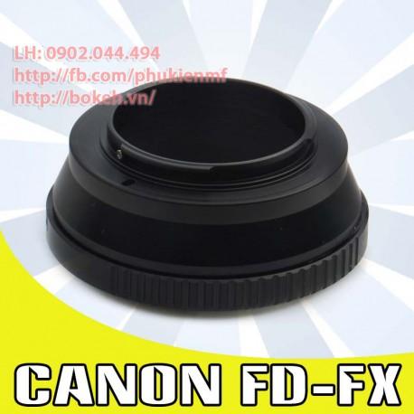 Canon FD/FL - Fujifilm X (FD-FX)