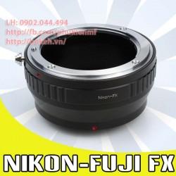 Nikon F/AI/AIS - Fujifilm X ( AI-FX )