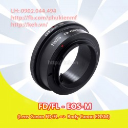 Mount Canon FD/FL - Canon EOS-M (FD-EOSM)