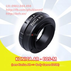 Mount Konica AR - Canon EOS-M (AR-EOSM)
