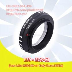 Mount Leica M39/L39 - Canon EOS-M (L39-EOSM)
