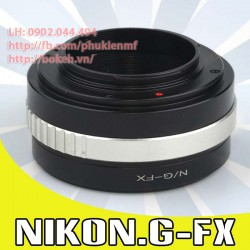 Nikon F/AI/AIS/AIG - Fujifilm X ( AIG-FX )