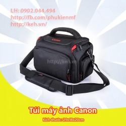 Túi máy ảnh Canon 2018 dày, chống sốc, chống nước (size to)