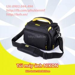 Túi máy ảnh NIKON 2018 dày, chống sốc, chống nước (size to)