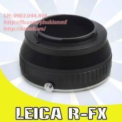 Leica R - Fujifilm X ( LR-FX )