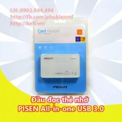 Đầu đọc thẻ Pisen All-in-1 TS-E111 USB 3.0