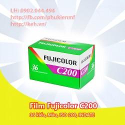 Film Fujifilm Fujicolor C200 36exp 35mm (INDATE)