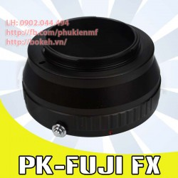 Pentax K - Fujifilm X ( PK-FX )