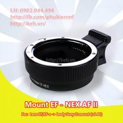 Mount Canon EOS - NEX AF II (EOS-NEX)