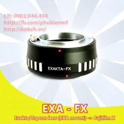 Exakta - Fujifilm X ( EXA-FX )