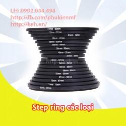 Filter step ring