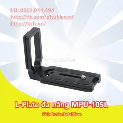 Đế tripod/Plate đa năng thao tác nhanh MPU-105L