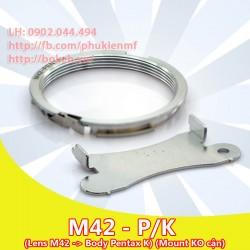 M42 - Pentax K - Ko cận ( M42-PK )