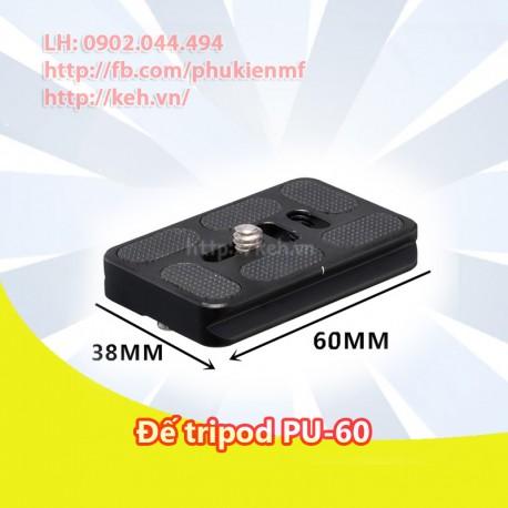 Đế tripod/Plate đa năng PU-60