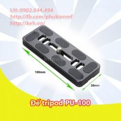 Đế tripod/Plate đa năng PU-100