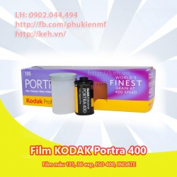 Film KODAK Portra 400 màu 135 36xp INDATE