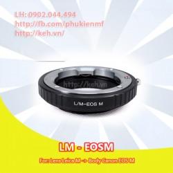 Mount Leica M (LM) - Canon EOS-M (LM-EOSM)