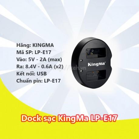 Dock sạc KINGMA LP-E17