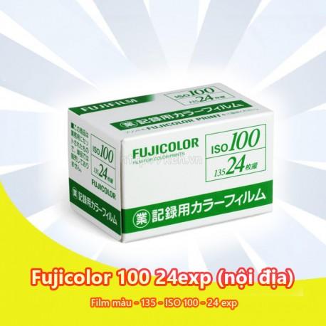Film Fujifilm Fujicolor 100 24exp nội địa Nhật - màu 135 - INDATE