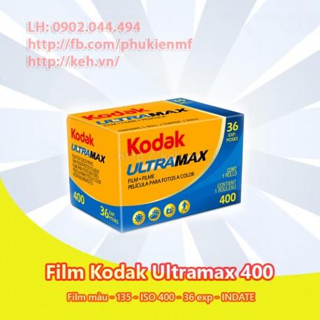 Film Kodak Ultramax 400 35mm 36exp (INDATE)