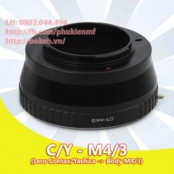 Contax/Yashica - M4/3 (CY-M4/3)