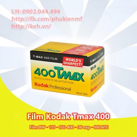 Film Kodak TMAX 400 35mm 36exp BW (INDATE)