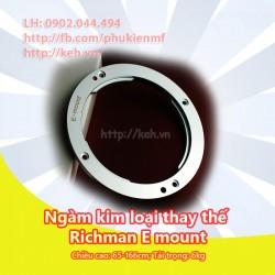 Ngàm kim loại thay thế Richman E-Mount cho a7 a7R NEX-3 NEX- 5 NEX-6 NEX-7 a5000 a5100 a6000