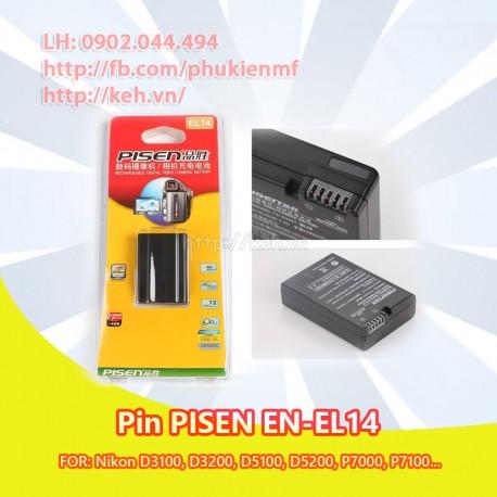 PIN PISEN EL14 FOR NIKON D3100, D3200, D5100, P7000, P7100