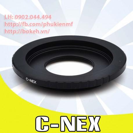 Cine C mount - Sony E Mount (C-NEX)