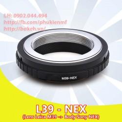 Leica L39 - Sony E Mount ( L39-NEX )