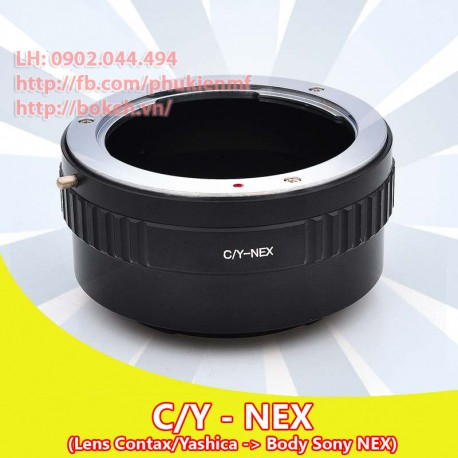 Contax/Yashica - Sony E Mount (CY-NEX)