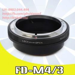 Canon FD/FL - M4/3 (FD-M4/3)