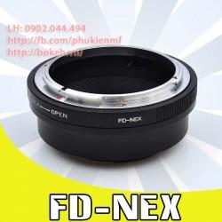 Canon FD/FL - Sony E Mount ( FD-NEX )