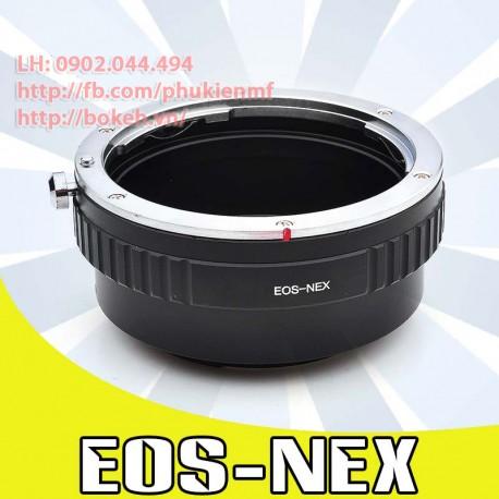 Canon EOS - Sony E Mount (EOS-NEX)