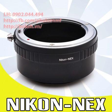 Nikon F/AI/AIS - Sony E Mount (AI-NEX)
