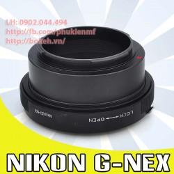 Nikon F/AI/AIS/AIG - Sony E Mount ( AIG-NEX )
