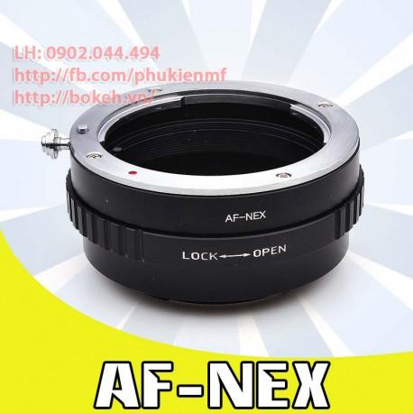 Sony A mount - Sony E Mount (MAF-NEX)