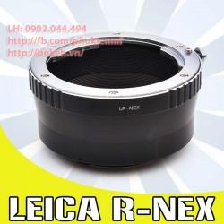 Leica R - Sony E Mount ( LR-NEX )