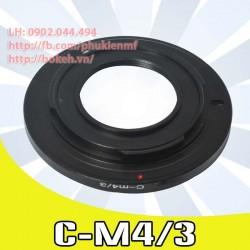 Cine C mount - M4/3 (C-M4/3)